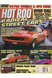 Hot Rod 1995. November - Drew Hardin - Régikönyvek