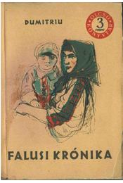 Falusi krónika - Dumitriu, Petru - Régikönyvek