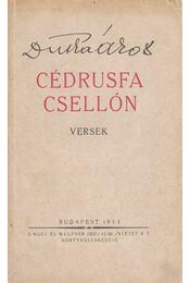 Cédrusfa csellón - Dutka Ákos - Régikönyvek