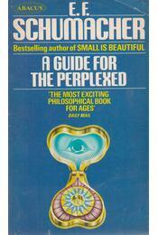 A Guide for the Perplexed - E. F. Schumacher - Régikönyvek