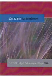 Társadalmi tanulmányok - Éber Áron Márk - Régikönyvek