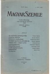 Magyar Szemle 1943. április - Eckhardt Sándor - Régikönyvek