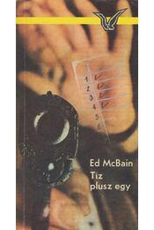Tíz plusz egy - Ed McBain - Régikönyvek