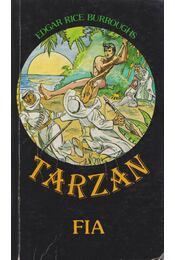 Tarzan fia - Edgar Rice Burroughs - Régikönyvek