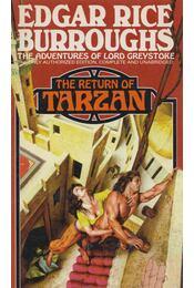 The Return of Tarzan - Edgar Rice Burroughs - Régikönyvek