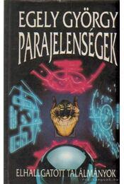Parajelenségek - Egely György - Régikönyvek