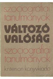 Változó valóság 1984 - Egyed Péter - Régikönyvek