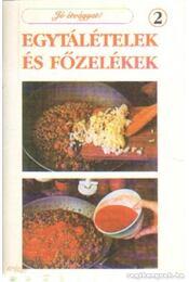 Egytálételek és főzelékek 2 - Régikönyvek