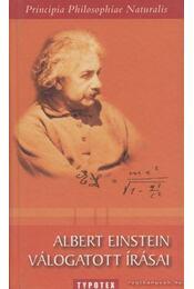 Albert Einstein válogatott írásai - Einstein, Albert - Régikönyvek