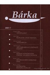 Bárka 2007/1 - Elek Tibor - Régikönyvek
