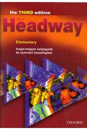 New Headway Elementary - Angol-magyar szójegyzék és nyelvtani összefoglaló - Elekes Katalin (szerk.) - Régikönyvek