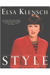 Style - Elsa Klensch - Régikönyvek