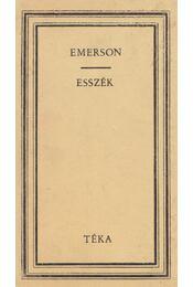 Esszék - Emerson, Ralph Waldo - Régikönyvek