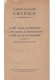 Csipke - Három egyfelvonásos - Emőd Tamás - Régikönyvek