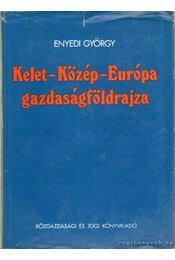 Kelet-Közép-Európa gazdaságföldrajza - Enyedi György - Régikönyvek
