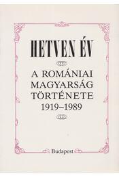 Hetven év - Enyedi Sándor, Barabás Béla, Diószegi László, Sebők László, R. Süle Andrea - Régikönyvek