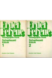Szövetkezeti írások 1-2. - Erdei Ferenc - Régikönyvek