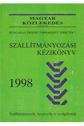 Szállítmányozási kézikönyv 1998 - Erdélyi András - Régikönyvek