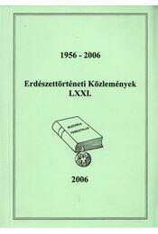 Erdészettörténeti Közlemények LXXI. - Régikönyvek