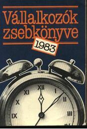 Vállalkozók zsebkönyve 1983 - Erdős Ákos, Juhász András - Régikönyvek
