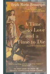 A time to love and a time to die - Erich Maria Remarque - Régikönyvek