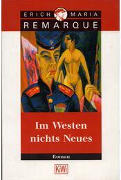 Im Westen nichts Neues - Erich Maria Remarque - Régikönyvek