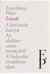Írások - Esterházy Péter - Régikönyvek