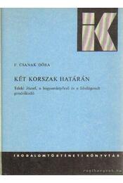 Két korszak határán - F. Csanak Dóra - Régikönyvek