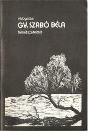 Válogatás Gy. Szabó Béla fametszeteiből - Fábián Gyula - Régikönyvek
