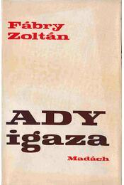 Ady igaza - Fábry Zoltán - Régikönyvek