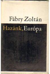 Hazánk, Európa - Fábry Zoltán - Régikönyvek