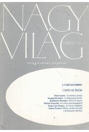 Nagyvilág 1994/10-11 - Fázsy Anikó - Régikönyvek