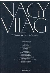 Nagyvilág 2002/11-12 - Fázsy Anikó - Régikönyvek