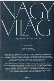 Nagyvilág 2002/1 - Fázsy Anikó - Régikönyvek