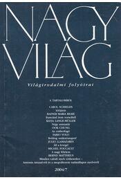 Nagyvilág 2004/7 - Fázsy Anikó - Régikönyvek