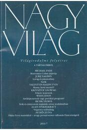 Nagyvilág 2013/7 - Fázsy Anikó - Régikönyvek