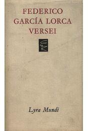 Federico García Lorca versei - Federico Garcia Lorca - Régikönyvek