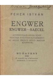Engwer - Fehér István - Régikönyvek