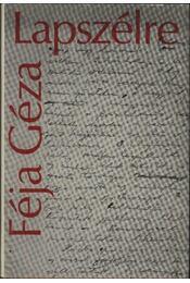 Lapszélre - Féja Géza - Régikönyvek