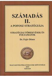 Számadás II. - A POFOSZ stratégiája - Fejér Dénes - Régikönyvek