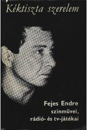 Kéktiszta szerelem - Fejes Endre - Régikönyvek