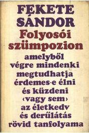 Folyosói szümpozion - Fekete Sándor - Régikönyvek