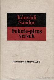 Fekete-piros versek - Kányádi Sándor - Régikönyvek