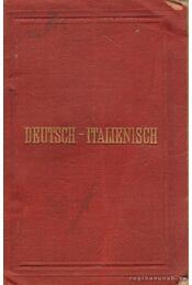 Neuestes Taschen-Wörterbuch der Italienischen und Deutschen Sprache für reisende und zum schulgebrauch (mini) - Feller, F. E. - Régikönyvek