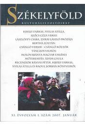 Székelyföld 2007. január 1. szám - Ferenczes István - Régikönyvek