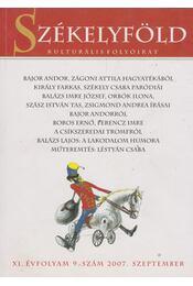 Székelyföld 2007.szeptember - Ferenczes István - Régikönyvek