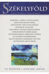Székelyföld 2008. január - Ferenczes István - Régikönyvek