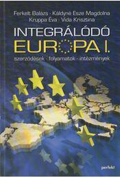 Integrálódó Európa I. - Ferkelt Balázs, Káldyné Esze Magdolna, Kruppa Éva, Vida Krisztina - Régikönyvek