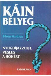 Káinbélyeg - Firon András - Régikönyvek