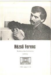 Hézső Ferenc festőművész kiállítása - Fodor Péter - Régikönyvek